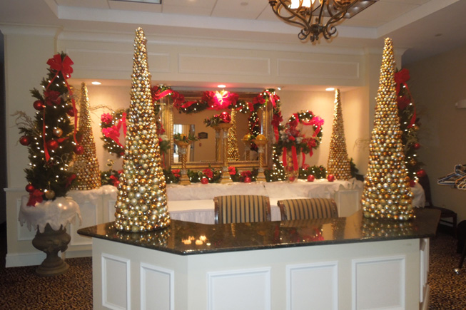 Christmas Decorations In Hotel Lobby : Holidays thelma keller convention center